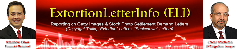 Copyright Infringement and ELI-Extortion Letter Info